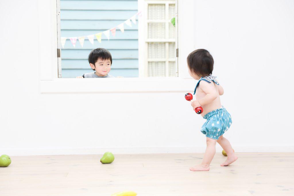 【バースデイ】3歳・1歳兄弟