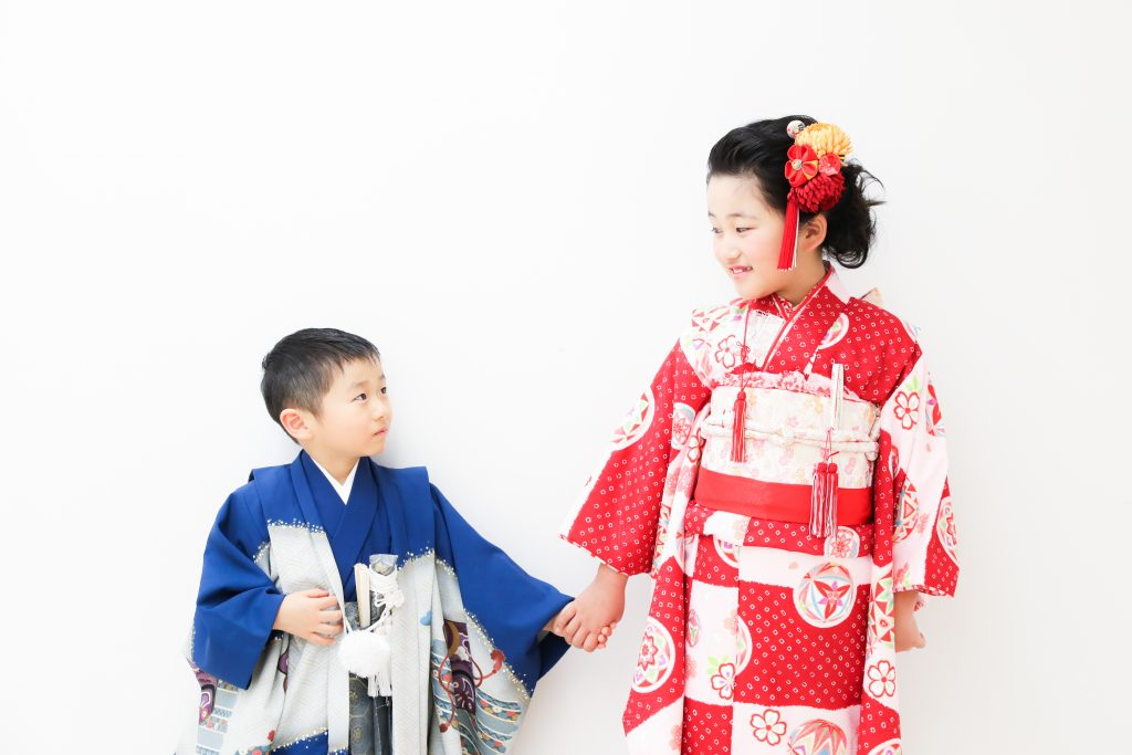 【753】5歳・8歳の姉弟