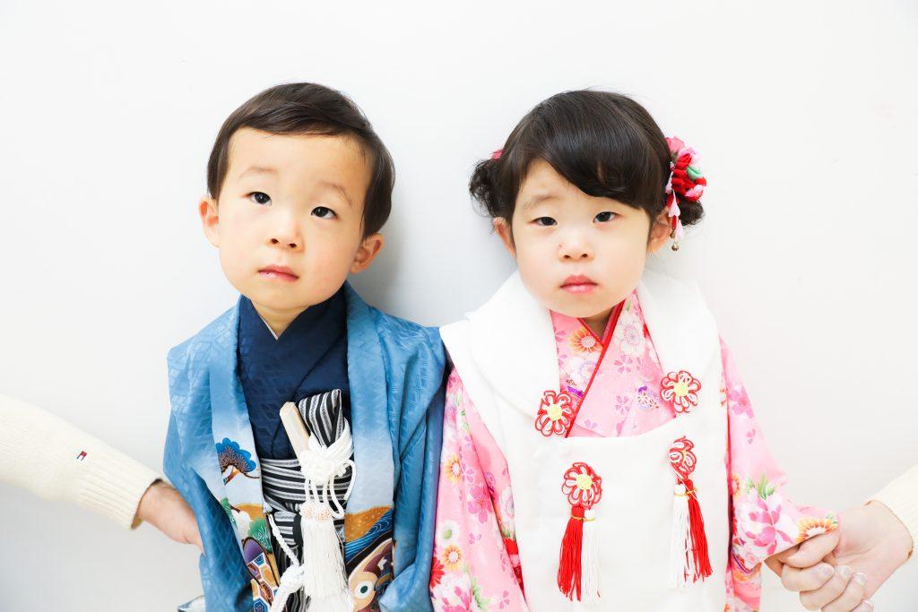 【753】3歳男の子と女の子