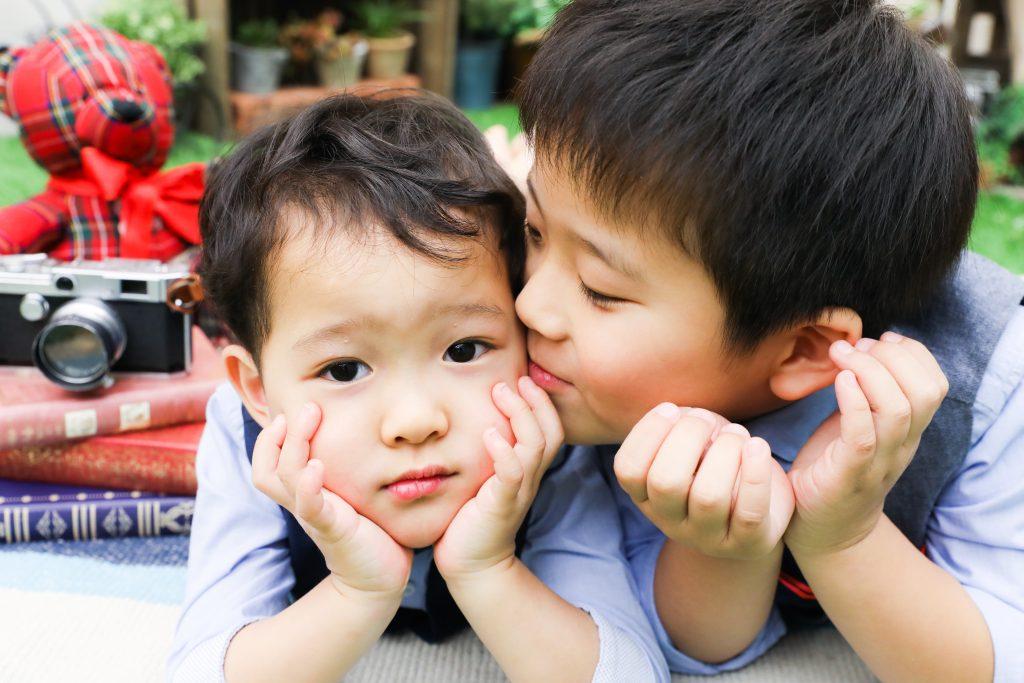 【記念撮影】5歳・3歳兄弟