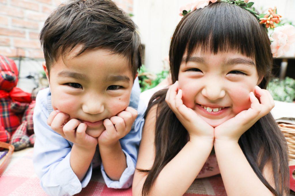 【753】5歳男の子、7歳女の子