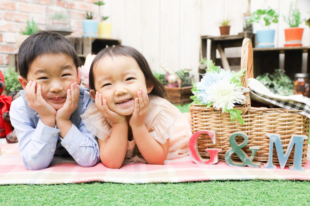 【753】3歳女の子、5歳男の子