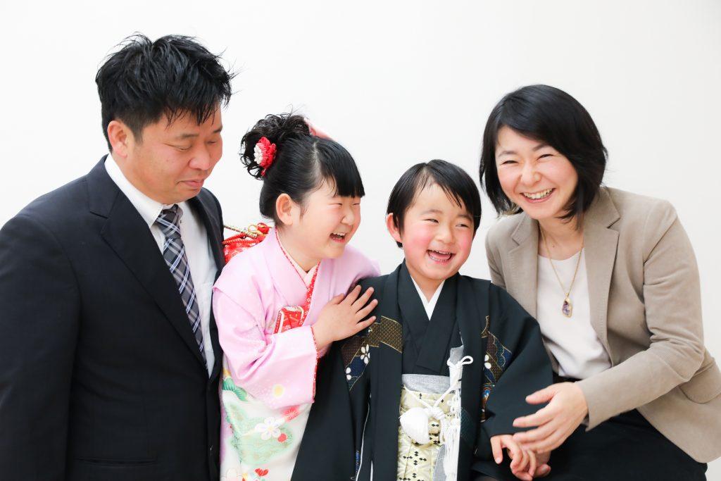 【753・入学】4歳男の子、6歳女の子