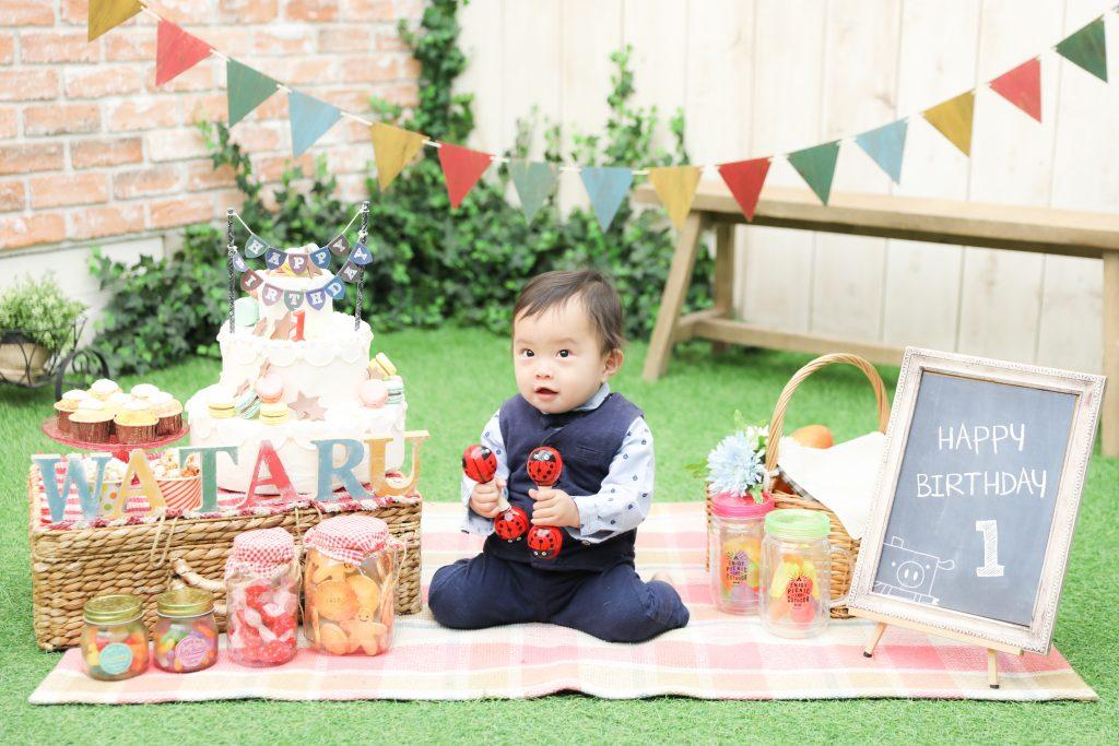 【バースデイ】1歳男の子