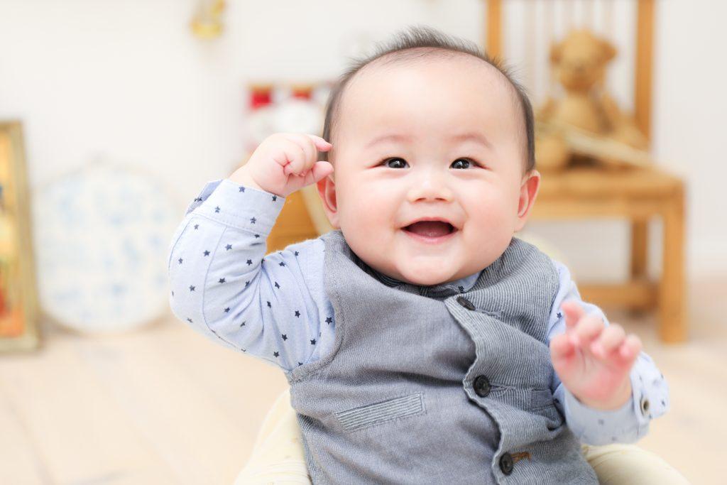 【ハーフバースデイ】1歳の男の子