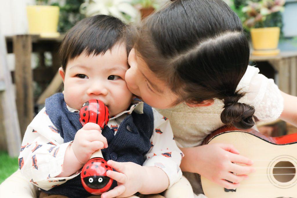 【お宮参り】6か月男の子