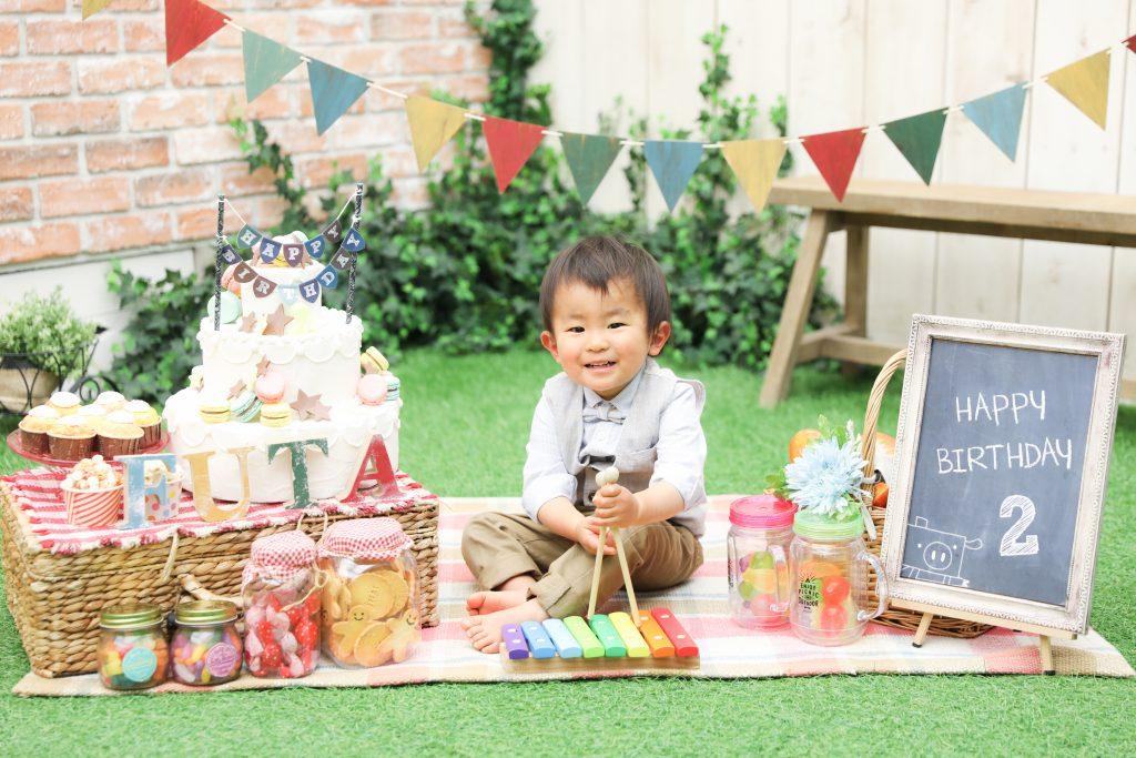 【バースデー】2歳男の子