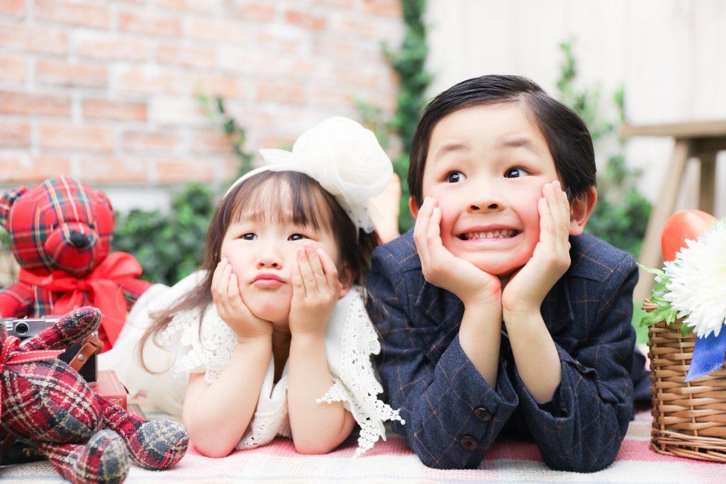【753】3歳・5歳の兄妹