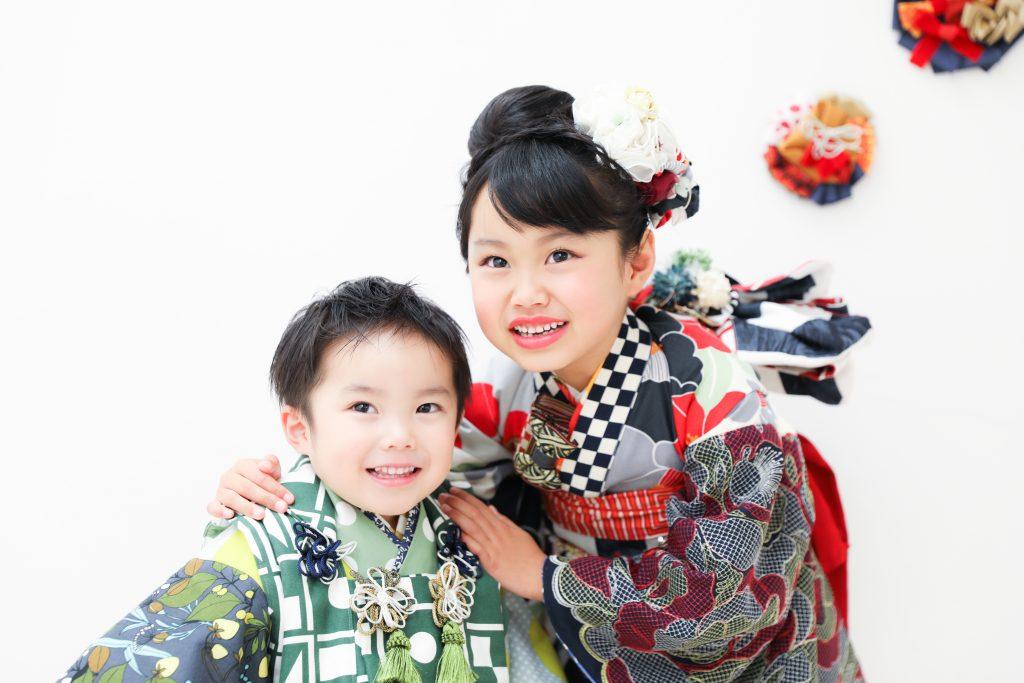 【753】6歳・3歳の姉弟