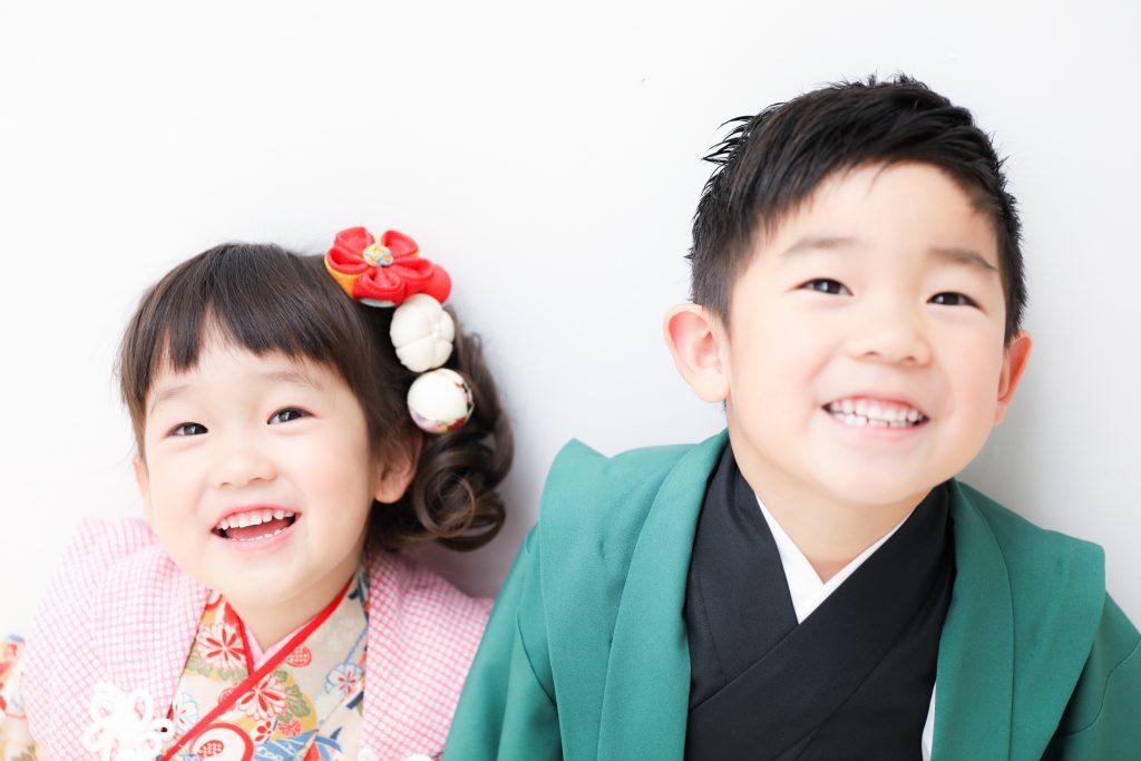 【753】5歳・3歳の兄妹