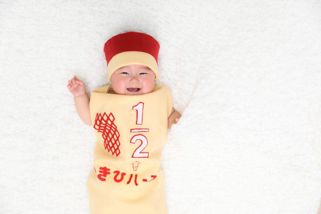 【ハーフバースデー】6ヵ月女の子