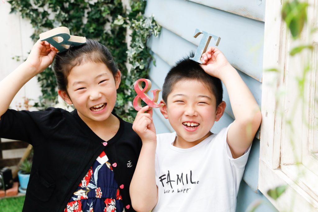 【バースデー】9歳と8歳の姉弟