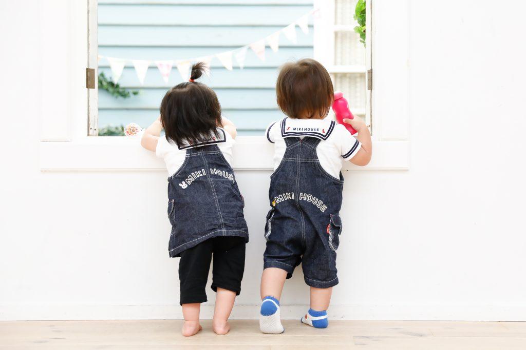 【お友達撮影】1歳の男の子と女の子