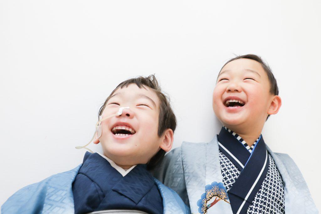 【753】6歳と4歳の男の子