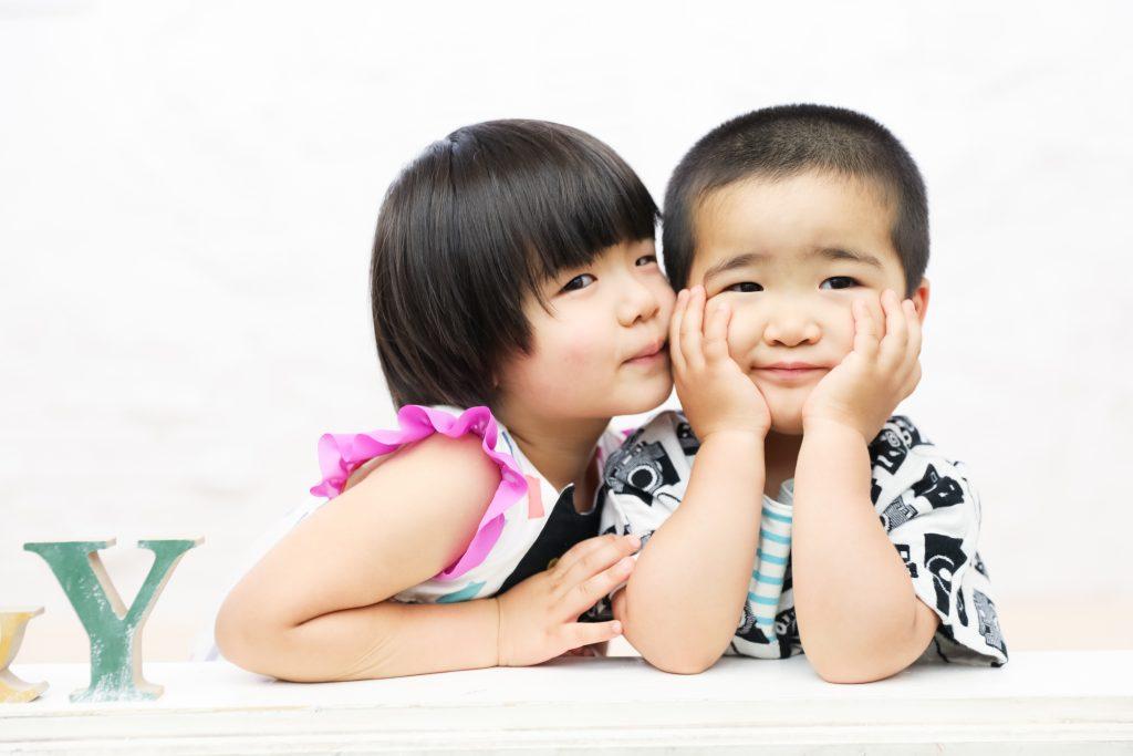 【バースデー】4歳・3歳の姉弟