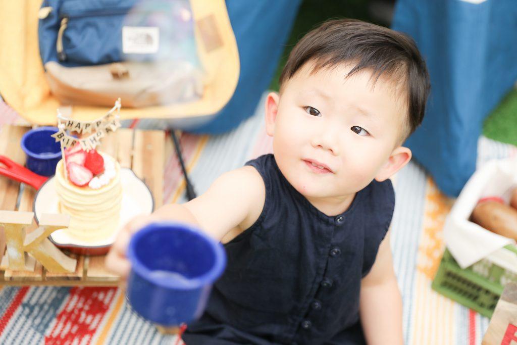 【バースデー】3歳男の子