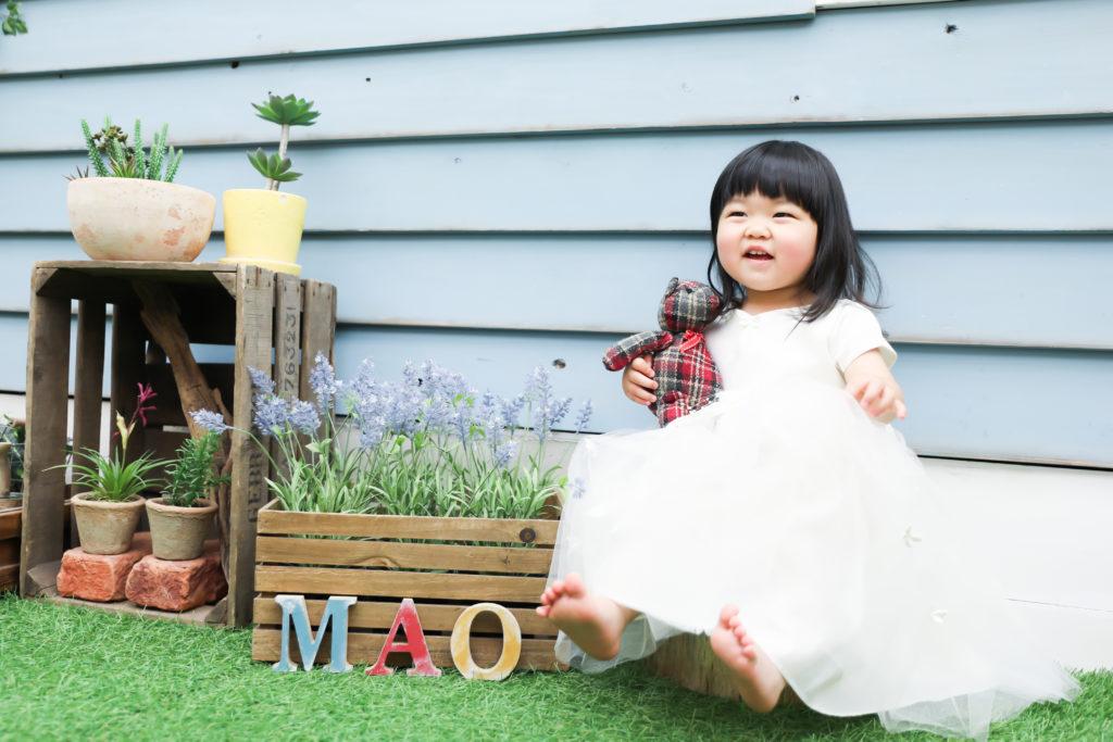 【バースディ】2歳女の子