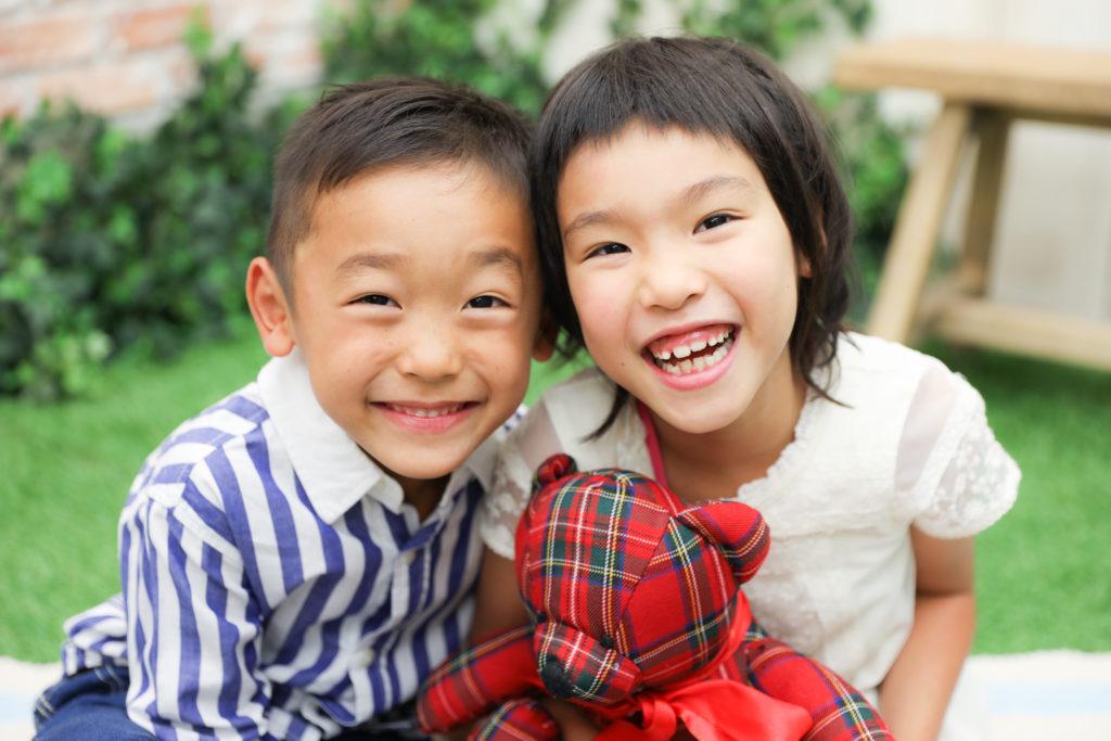 【743】5歳・7歳の姉弟