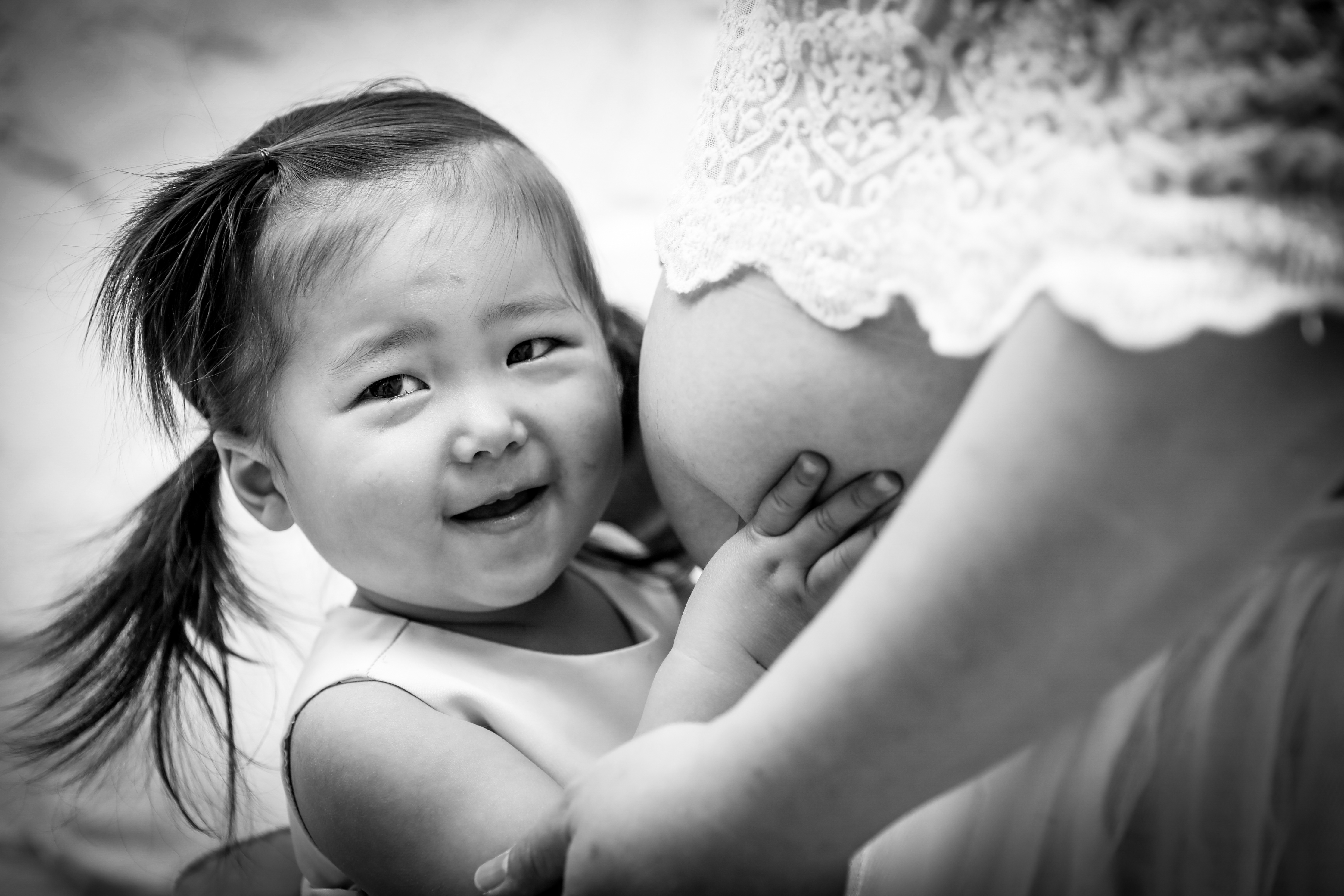 【マタニティ&入園記念】ママと1歳半の女の子