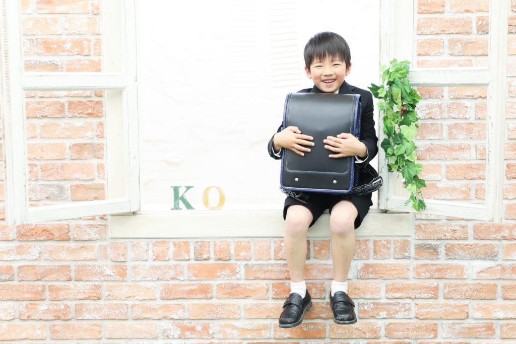 【入学・バースデイ】7歳男の子