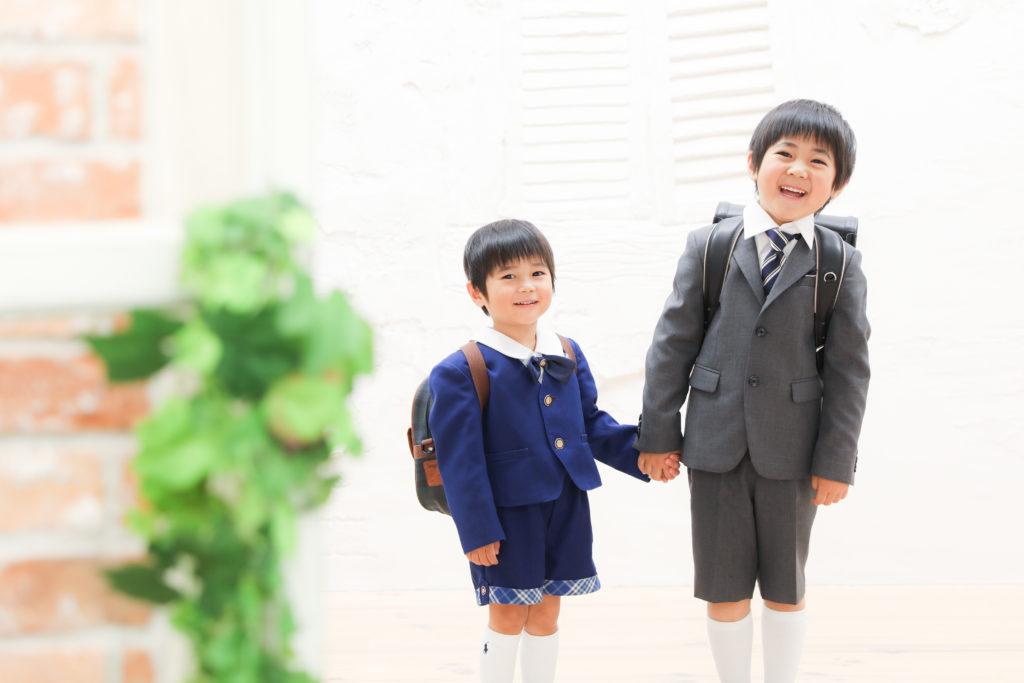【入学・入園】6歳・3歳男の子