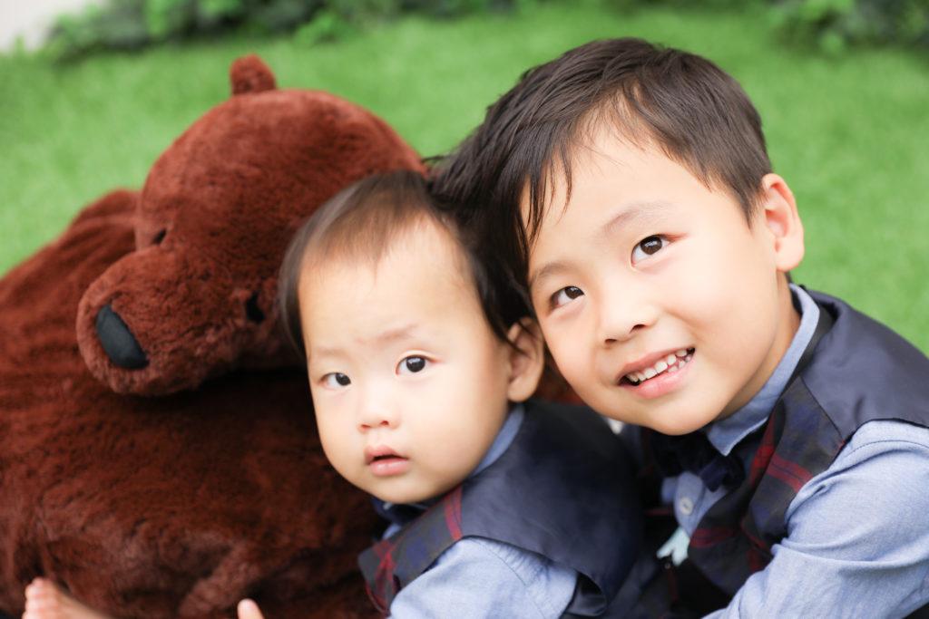 【753】4歳男の子2歳男の子