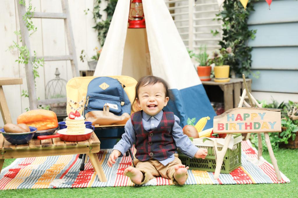 【バースデー】1歳男の子2歳女の子