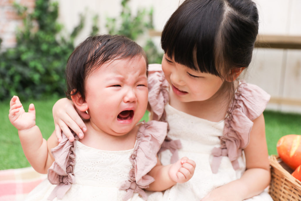 【バースデイ・入学】1歳女の子・6歳女の子