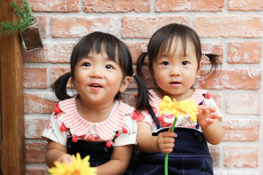 【バースデイ】2歳双子の女の子