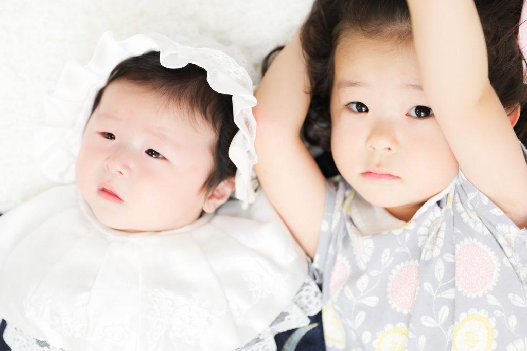 【お宮参り・753】2歳女の子・3か月男の子