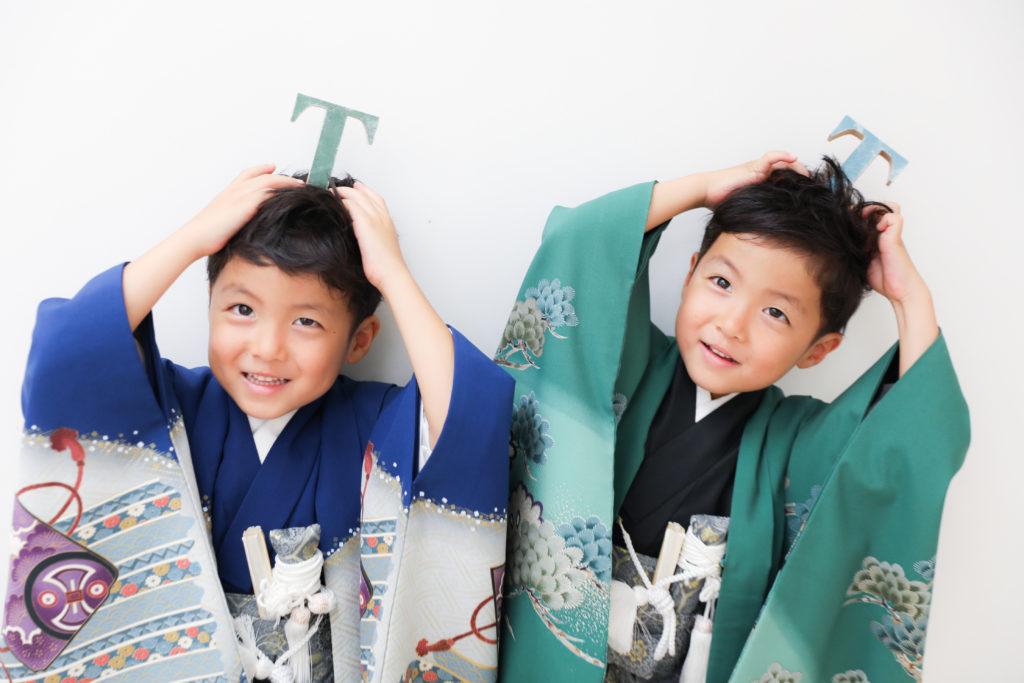 【753】5歳の双子の男の子