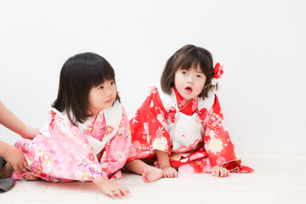 【753】3歳の姉妹