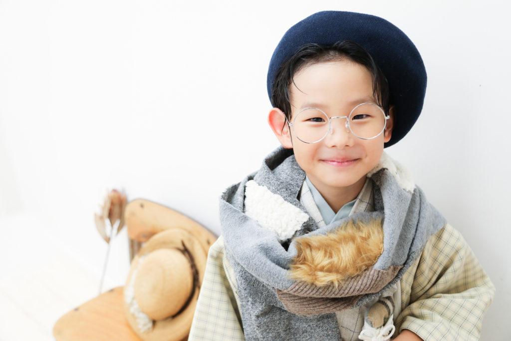 【お宮参り・753】0歳男の子5歳男の子