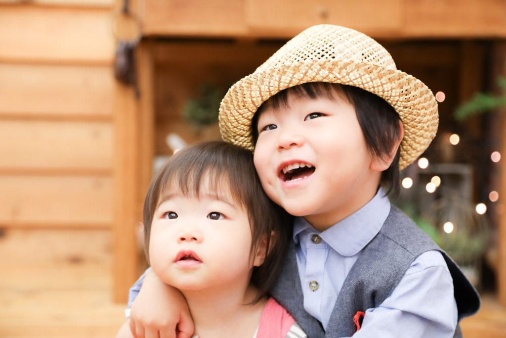 【バースデー】1歳女の子3歳男の子