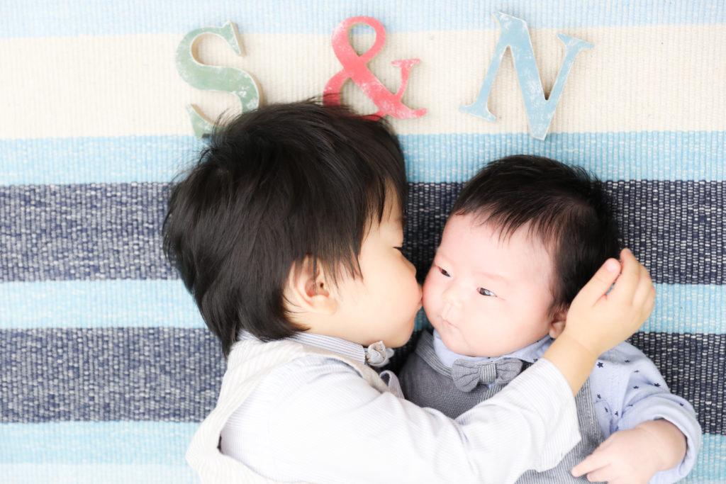 【お宮参り】2か月男の子