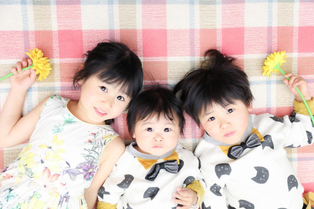 【その他】5歳・3歳・10ヵ月の姉弟