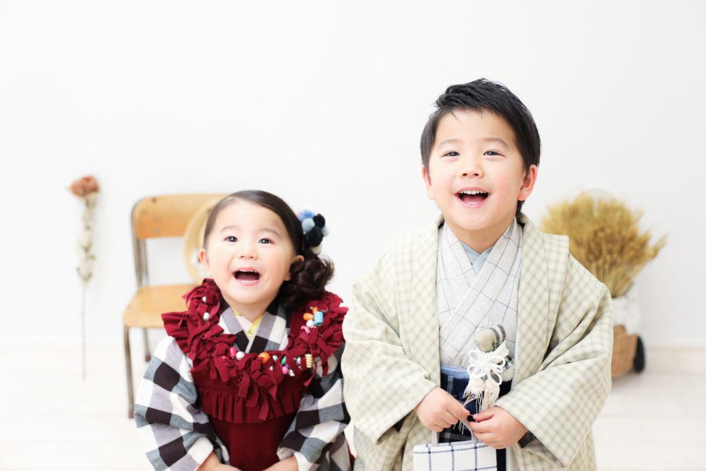 【753】5歳男の子・3歳女の子