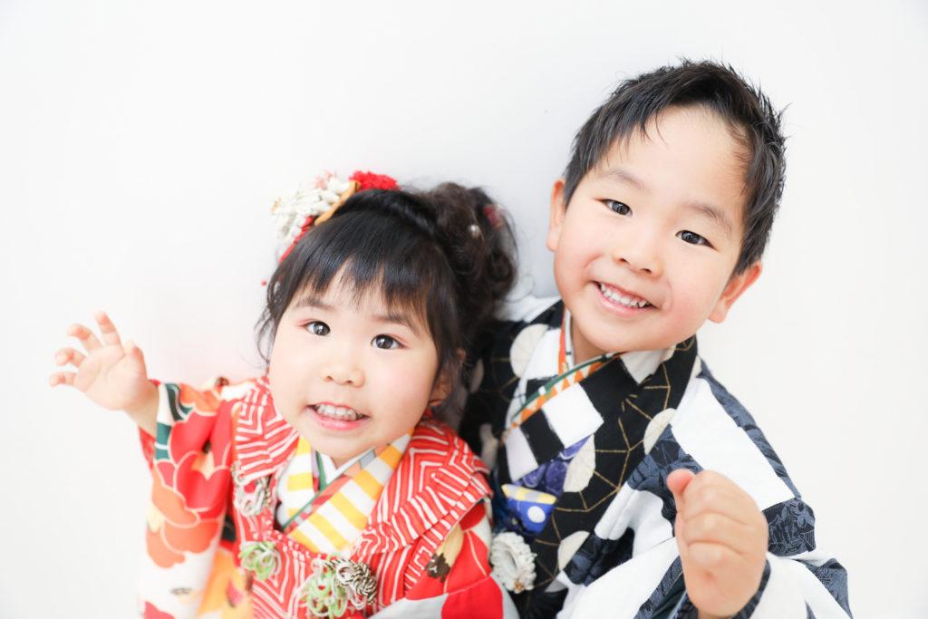 【753コラボ】3歳女の子・5歳男の子