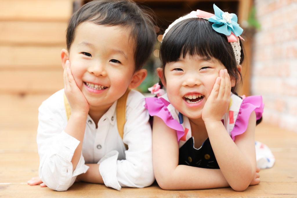 【バースデイ】4歳の双子ちゃん