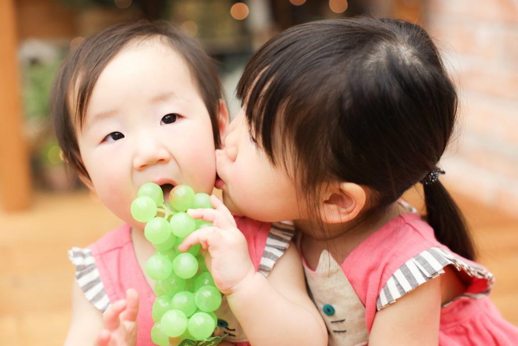 【バースデイ】1歳.3歳姉妹
