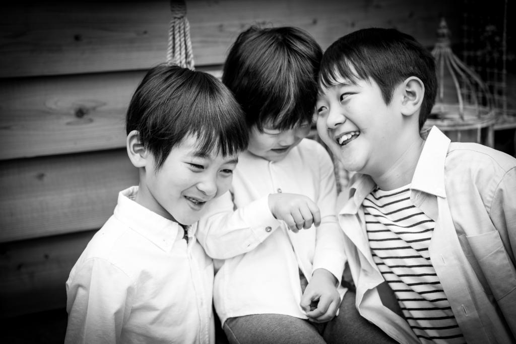 【入学・バースデイ】6歳と3歳男の子