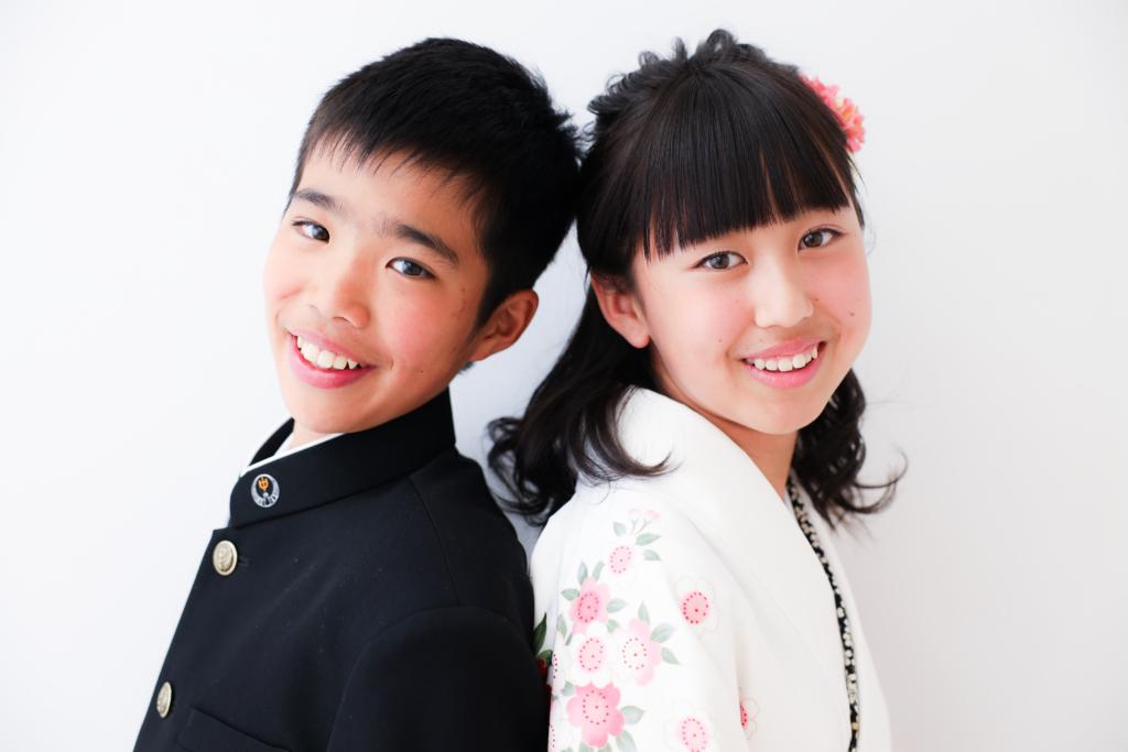【卒園・入学】12歳友達撮影