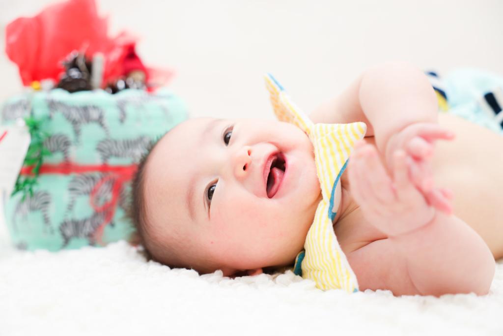 【100日記念・入園・入学】3か月男の子、6歳と3歳姉妹