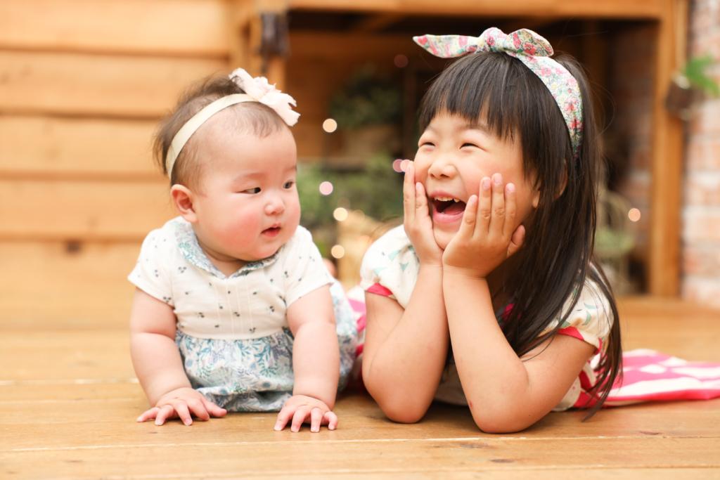 【バースデイ】4歳・0歳女の子