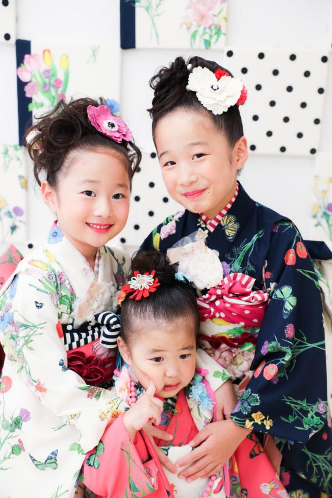 【753コラボ・100日記念】0歳・3歳・5歳・7歳女の子