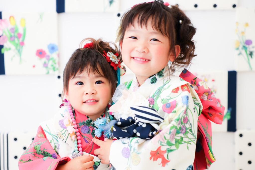 【753コラボ】3歳女の子・6歳女の子