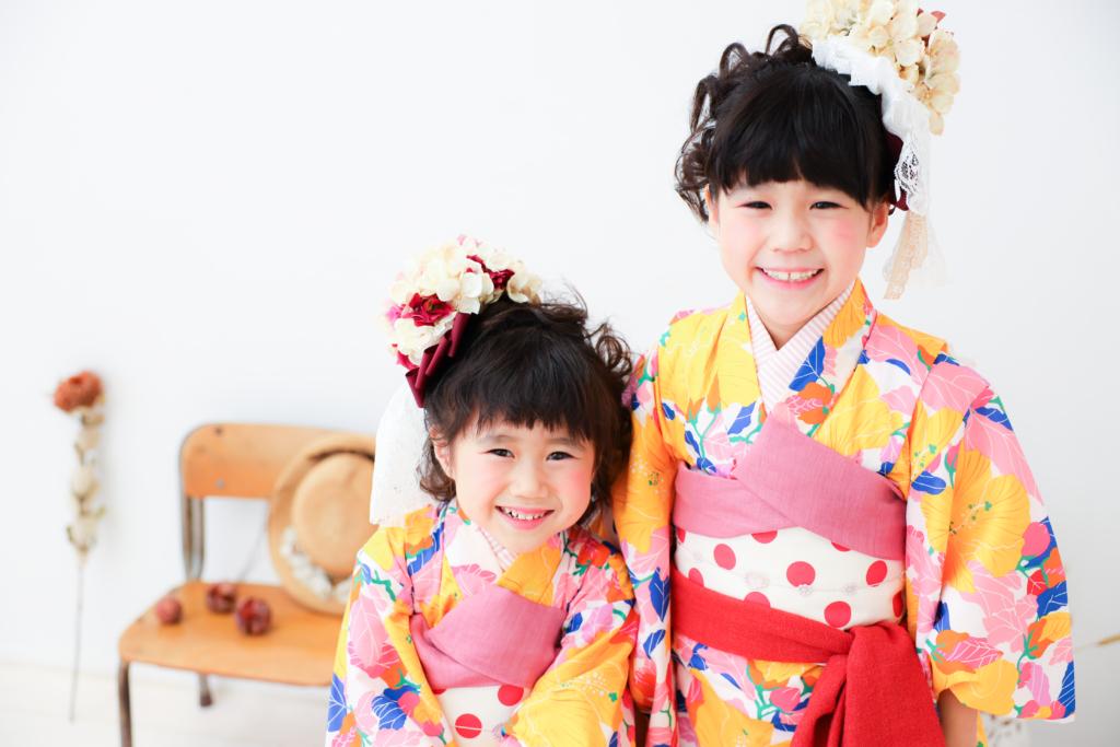 【753コラボ】7歳・3歳姉妹