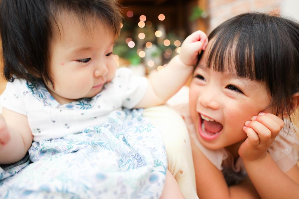 【ハーフバースデイ】0歳・3歳女の子
