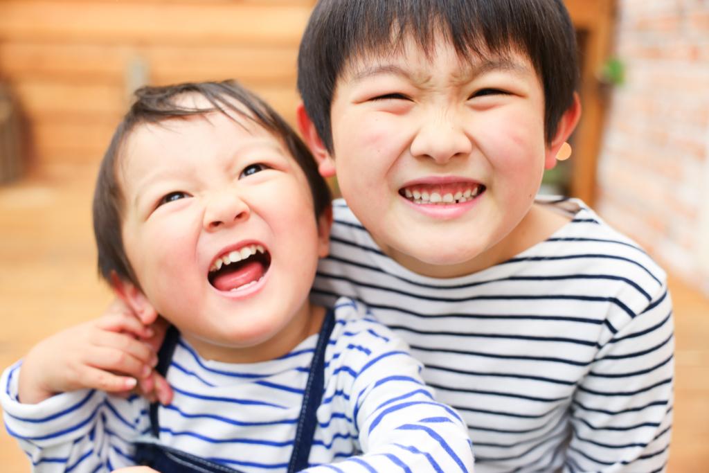 【入学・バースデイ】7歳・2歳兄弟