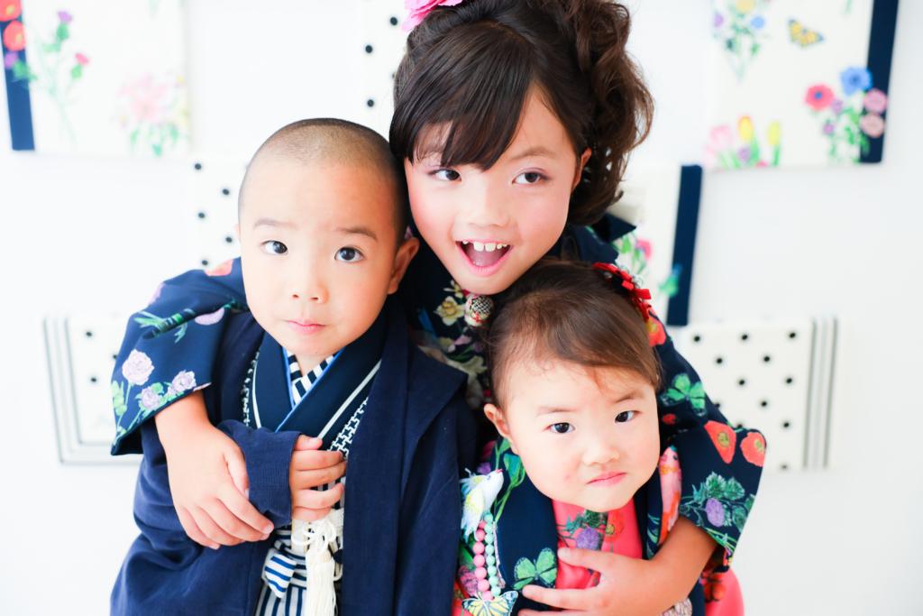 【753コラボ】7歳・5歳・3歳姉弟